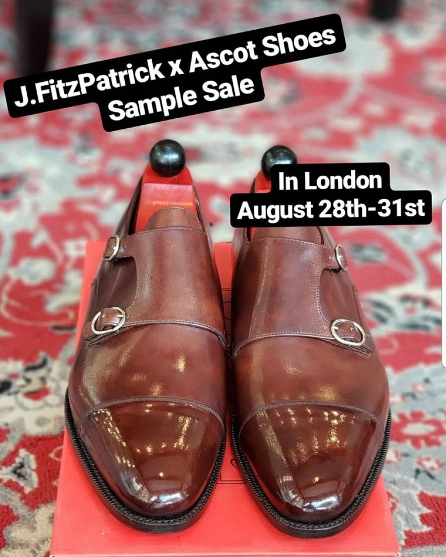 J Fitzpatrick Footwear and Ascot Shoes Sample Sale