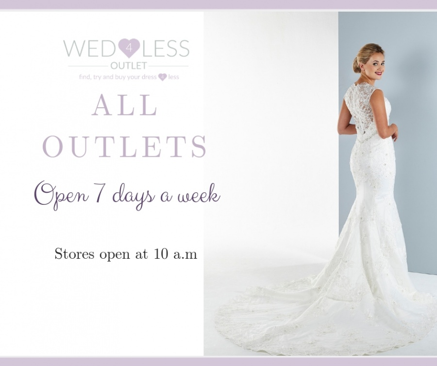 3fc337d1 WED4LESS aim is to ensure that every bride who walks through their doors  has a fabulous time whether she buys or not and really enjoys her wedding  dress ...