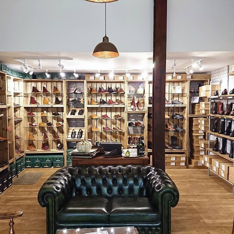 243e435a All aspects of our footwear manufacturing is made in Wollaston and after  135 years in continuous manufacturing we have opened a new Factory Shop to  sell our ...
