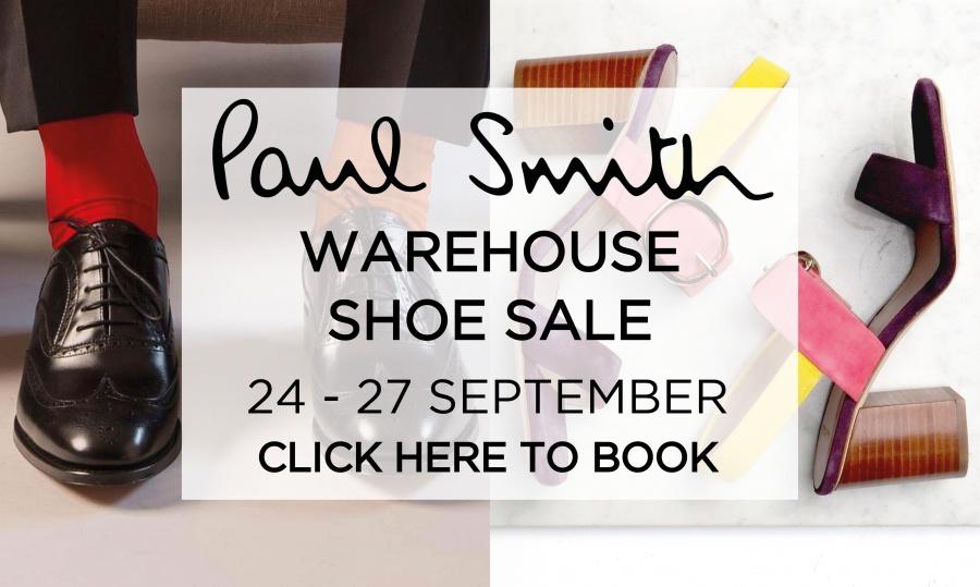 Paul Smith Shoes Warehouse Sale