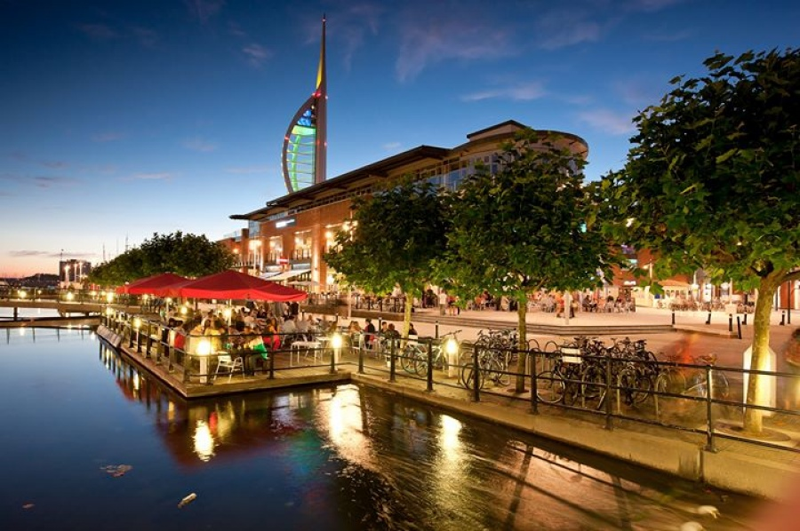 Gunwharf Quays premium retail outlet -- Outlet store