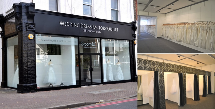 Wedding Dress Factory Outlet -- Outlet store in London