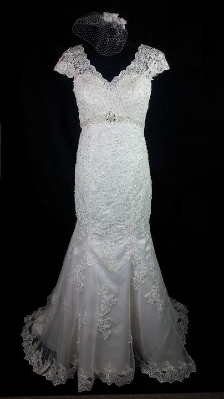 black wedding dress leics